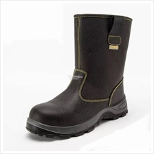 High Cut Safety Boots - c/w Steel ToeCap, Steel Plate and Waterproof