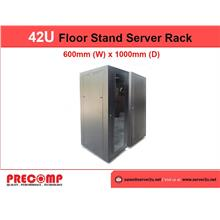 GrowV 42U Floor Stand Server Rack - 600mm x 1000mm (P/G42100FS)