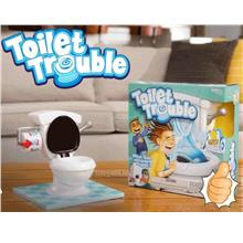 SALES.!! Super Fun Game TOILET TROUBLE Flush Sound Effect. Ready Stock