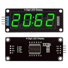 0.56 Inch TM1637 4Bit Digital LED 7Segment Clock Tube Display for Ardu