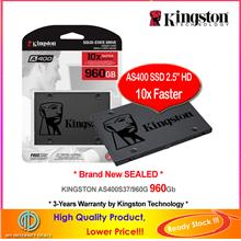 Kingston 120G 240G 480G 960G SSD SATA-III 2.5' Solid State (SA400S37)