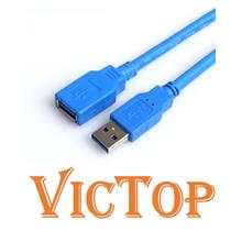0.5M 1.5M 3M USB 3.0 Male to Female Extension Cable Extender USB3.0