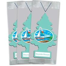 [From USA]Little Trees Car Air Freshener 3-PACK (Bayside Breeze)