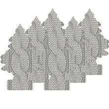 [From USA]Little Trees Car Air Freshener 6-Pack (Cable Knit)