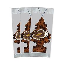 [From USA]Little Trees Car Air Freshener 3-PACK (Leather)