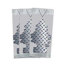 [From USA]Little Trees Car Air Freshener 3-PACK (Pure Steel)