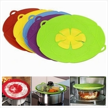 As Seen On TV Kitchen Cooking Tools Silicon Lid Spill Stopper Silicone