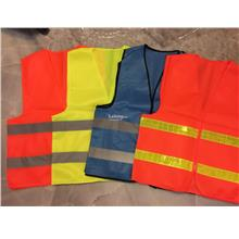 Safety Vest - Velcro Type with Reflective