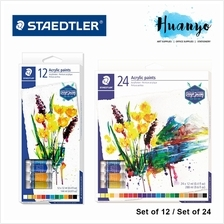 Staedtler Acrylic Colour Paint (Set of 12 / Set of 24)
