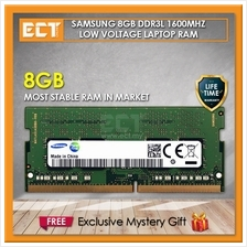 Samsung 8GB DDR3L PC3L-12800S 1600Mhz SODIMM Low Voltage Laptop Memory