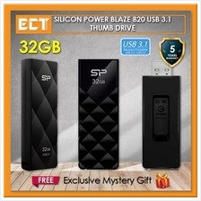 Silicon Power Blaze B20 32GB/64GB USB 3.1 Flash/Thumb Drive/Pendrive