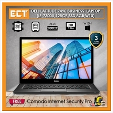 Dell Latitude 7490 Business Class Laptop (i5-7300U 3.50Ghz,128GB SSD)