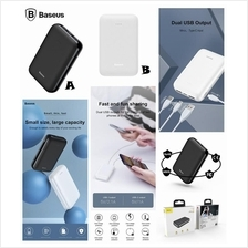 BASEUS Mini JA 10000mAh Dual USB Type-C Fast Charge Power Bank Battery