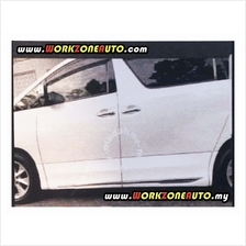 ABS306 Toyota Vellfire Alphard 08-14 ABS Door Panel with Chrome (MDLS)