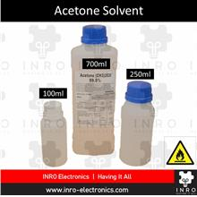 Acetone Solvent %, Nail Paint Removal, Degreaser, 250ml / 700ml