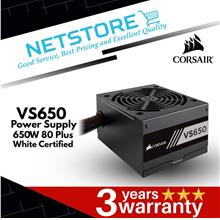 CORSAIR VS Series™ VS650 — 650 Watt 80 PLUS® White Certified PSU
