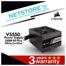 CORSAIR VS Series™ VS550 — 550 Watt 80 PLUS® White Certified PSU