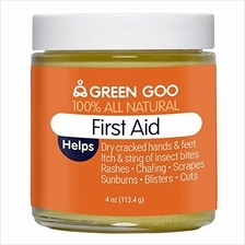 [From USA]Green Goo All-Natural Skin Care First Aid Jar 4 Ounce