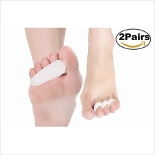 [From USA]ERGOfoot 4PCS 3 Loop Gel Hammer Toe Pads Cushion Corrector & St