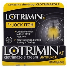 [From USA]Lotrimin AF Antifungal Cream Jock Itch - 0.42 oz Pack of 6