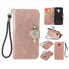 [From USA]Amocase Wallet Case with 2 in 1 Stylus for Samsung Galaxy A8 20183D