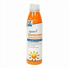 [From USA]Quality Choice Sport Sunscreen SPF 50 Continuous Spray 6 Ounces Each