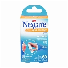 [From USA]Nexcare No-Sting Liquid Bandage .61 Fluid Ounces