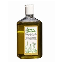 [From USA]Nuwati Herbals Moccasin Tracks Bath and Body Oil - for Dry Skin Sunb