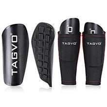 [From USA]TAGVO Soccer Shin Guards Youth with Pocketed Compression Calf Sleeve