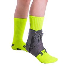 [From USA]BraceAbility Kids Lace-Up Ankle Brace | Pediatric Figure 8 Foot Supp