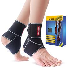[From USA]Ankle Brace Husoo Breathable Ankle Support Compression Ankle Wrap fo