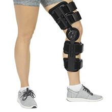 [From USA]Vive ROM Knee Brace - Hinged Immobilizer for ACL MCL and PCL Injury