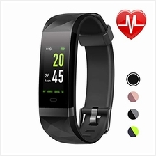 [From USA]LETSCOM Fitness Tracker HR Color Screen Heart Rate Monitor IP68 Wate