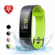 [From USA]LETSCOM Fitness Tracker Color Screen HR Activity Tracker with Heart
