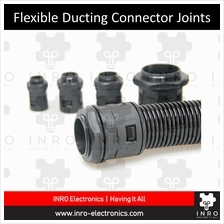 "Flexible Ducting Connector, Ripple Pipe Connector, 1/4"" - 2"" diameter"