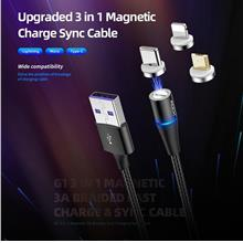 ROCK G3 3in1 Magnetic Braided Cable