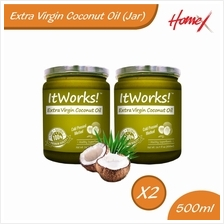 Extra Virgin Coconut Oil - Jar (500ml X 2)