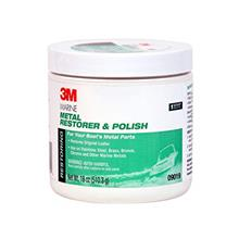 [From USA]3M 09019 Marine Metal Restorer and Polish (18-Ounce Paste)