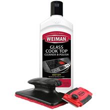 [From USA]Weiman Cooktop Cleaner Kit - Cook Top Cleaner and Polish 10 oz. Scru