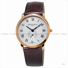 FREDERIQUE CONSTANT FC-235M4S4 Men's Small-Second Leather Brown