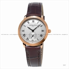 FREDERIQUE CONSTANT FC-235M1S4 Women's Small-Second Leather Brown