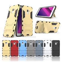 Samsung Galaxy A8 Plus 2018 ironman Armor Antidrop Case Casing Cover
