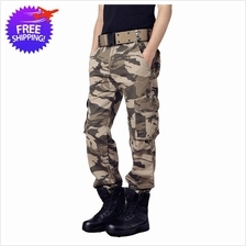 Army Fashion Men Multi Pocket Tactical Camping Hiking Camouflage Pants