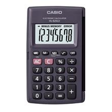 Genuine Casio Portable Type Calculator HL-820LV-BK @ 8 Digits with Har