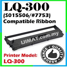 Epson LQ300 LQ 300 LQ-300 Compatible Printer Ribbon Ink S015506 #7753