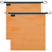 [From USA]Vulcan Bright Orange Safety Flag With Stretch Cord For Wide And Over