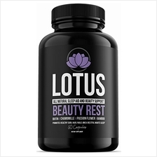 [From USA]Lotus Beauty Rest- All Natural Sleep AID  & Beauty Support - Hai