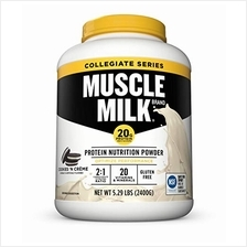 [From USA]Muscle Milk Collegiate Protein Powder Cookies 'N Crème 20g Protein