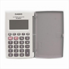 Genuine Casio Portable Type Calculator HL-820LV-WE ~8 Digits with case