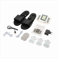100-240V Multi-function-Electronic-Pulse-Massager-Therapy-With-Therapy-Slipper